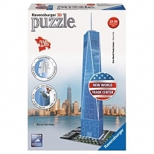 One World Trade Center Puzzle 3D RAVENSBURGER