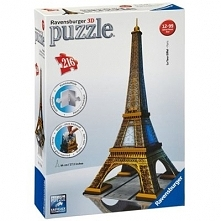 Wieża Eiffla Puzzle 3D RAVENSBURGER