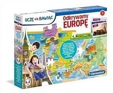 Puzzle edukacyjne - Odkrywamy Europę. Uczę się bawiąc (50020)