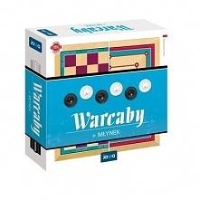 Gra Warcaby/Młynek 2 gry