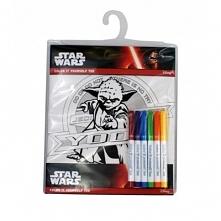 Koszulka Star Wars Yoda z mazakami, 7-8 lat