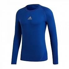 Adidas Koszulka Sportowa ASK LS Tee Niebieska r. 116 (CW7323)