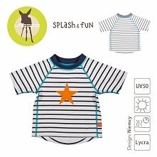 Lassig - Koszulka T-shirt do pływania Sailor, UV 50+, rozm. 24-36mcy