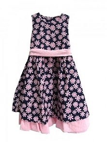 Topo Sukienka Dziewczęca 92 Różowa