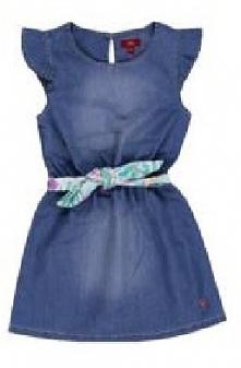 S.Oliver Sukienka Dziewczęca 104, Niebieski