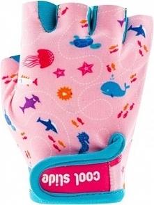 CoolSide Rękawiczki rowerowe dziecięce Mermaid Gloves różowe r. S
