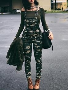 Stylish Camouflage Pocket F...