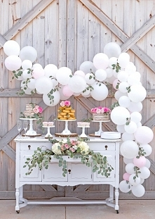 balony dekoracja