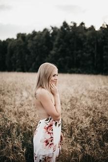 Sukienka floral maxi