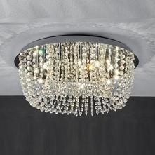 Plafon lampa sufitowa Reunion LP-ARR9160S srebrny, transparentny Kryształ Light Prestige Plafon lub innymi słowy plafoniera będzie znakomitym wyjściem dla niedużych lub niskich ...