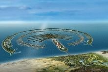 Wyspy palmowe w Dubaju - największe sztuczne wyspy na świecie :)