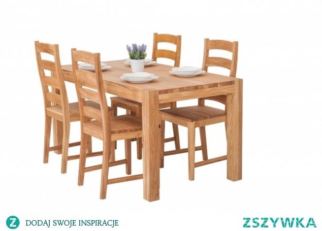 Stół Drewniany 150x80 Do Małej Kuchni Na 4 Krzesła Na Do
