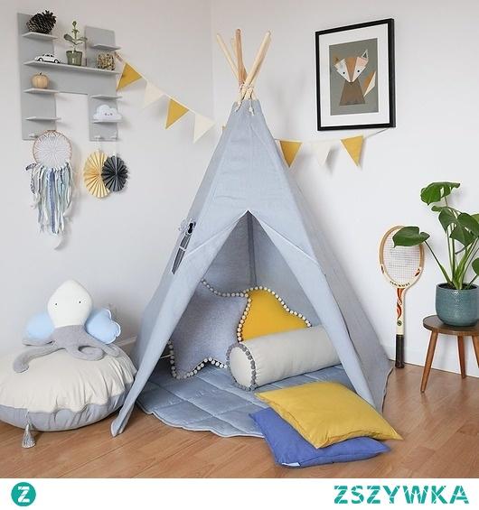namiot tipi na Pokoj dzieciecy Zszywka.pl