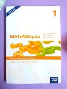 """Podręcznik """"MATeMAtyka"""" dla klasy 1 w zakresie podstawowym to podręcznik przyjazny, przedstawiający zagadnienia matematyczne w sposób przystępny i zrozumiały. • Porządkuje wiedz..."""