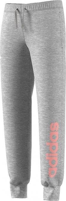Adidas Spodnie juniorskie  Yg Linear Pant szare r. 140 cm (BP8595)
