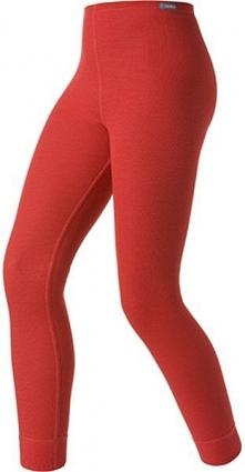 Odlo Spodnie termoaktywne Odlo Pants long Warm Kids czerwone r. 92 (1041992)