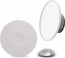 Magnetyczne lusterko Bosign powiększające  białe x 15