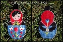 Matrioszka - haft krzyżykowy