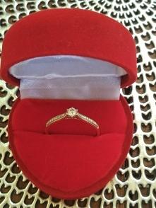 #Aclari # pierścionek zaręczynowy