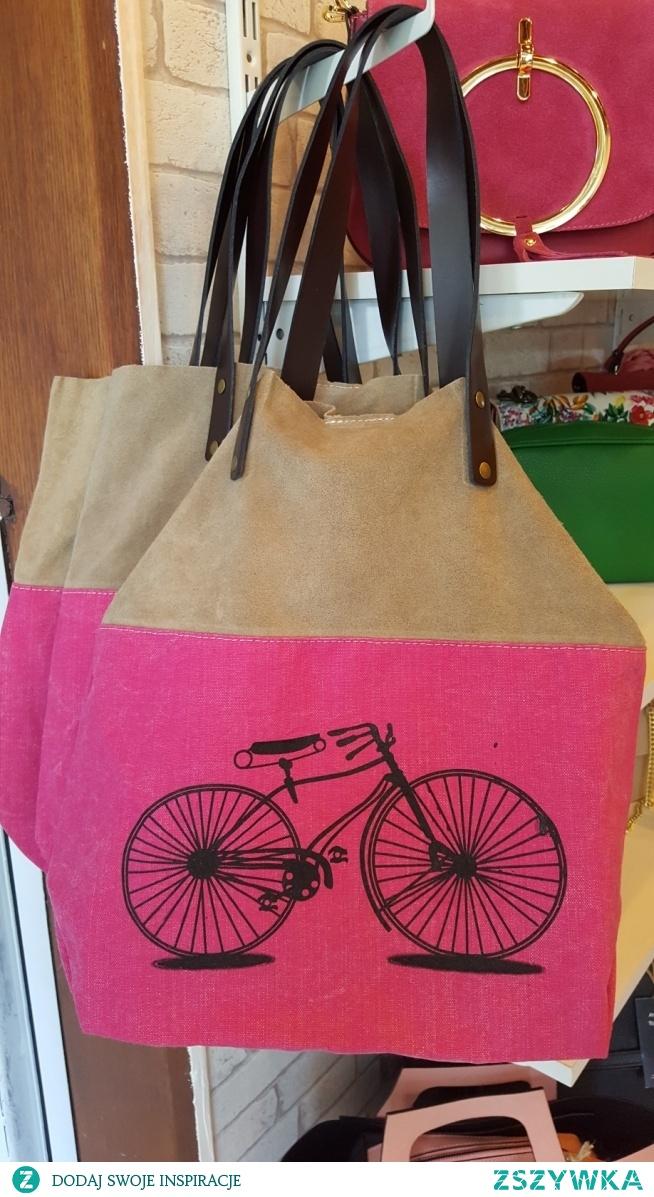 torebka dla roweżystki piękna Fb/Atelier Torebek - torebki damskie