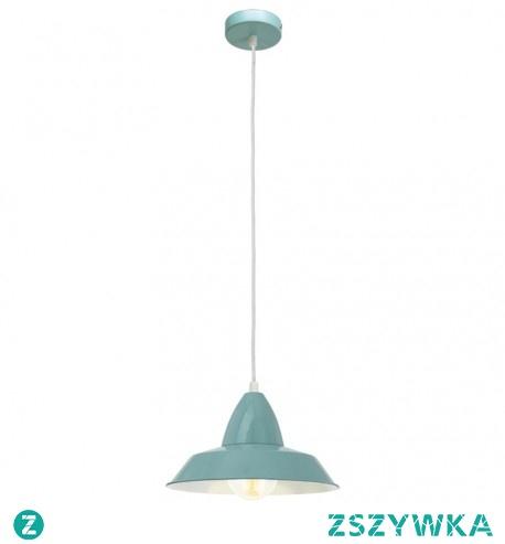 VINTAGE 49244 EGLO Lampa wisząca PISTACJOWY     Oprawa z serii VINTAGE. Wykonana z metalu w kolorze pistacjowym. Oprawa doskonała do wnętrz w stylu vintage, industrialnym oraz wielu innych.