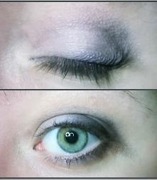 Delikatne srebro na oku. Bez tuszu na rzęsach