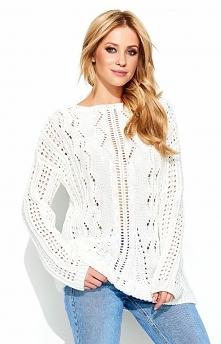 Makadamia S60 sweter ecru C...