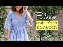 DIY Summer Blouse | Made Fr...