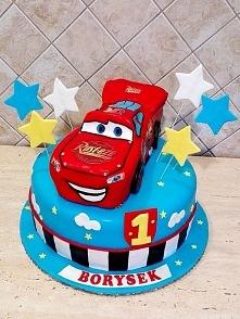 tort 1 urodziny - Zygzak Mc...