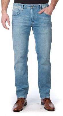 Pepe Jeans Jeansy Męskie Bradley 30/32 Niebieski