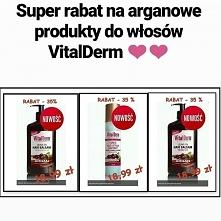 Znacie produkty marki VITALDERM ?? ❤️ Mamy na wybrane  produkty tej marki szczególną promocję !! Olej arganowy to główny składnik produktów do pielęgnacji włosów, twarzy i ciała...