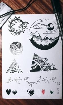 Moje projekty tatuaży - wkrótce więcej info
