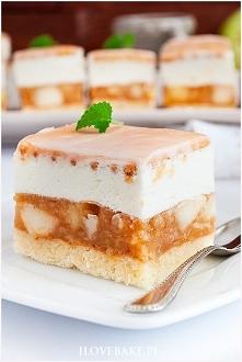 Ciasto kostka jabłkowa