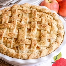 Amerykański jabłecznik czyli apple pie! NAJLEPSZY PRZEPIS