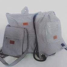 Trio - plecak, listonoszka, worek/plecak turpis