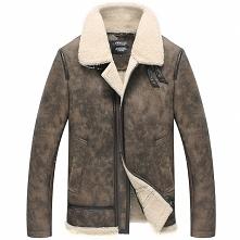 Custom Suit | CWMALLS® Phoenix Mens Shearling Sheepskin Aviator Jacket CW8380...
