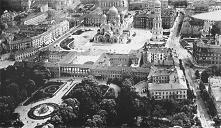 Pałac Saski i Sobór Św. Aleksandra Newskiego, Warszawa 1919 r.