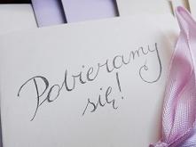 zaproszenia diy (klik) :) wesele i ślub