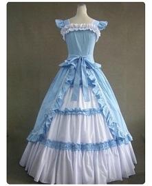 Suknia z czasów wiktoriańskich