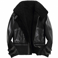 Vancouver Weather | CWMALLS® Milan Mens Sheepskin Leather Bomber Jacket CW808...