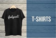 Hurtownia z koszulkami Feelgood oferuje odzież reklamową z nadrukiem.