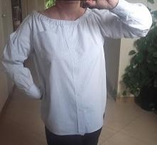 modna bluzka hiszpanka ze starej męskiej koszuli krok po kroku