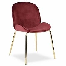 Krzesło Milo burgund