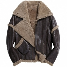 CWMALLS Online Shopping| CWMALLS® San Jose Mens Sheepskin Flight Jacket CW808...