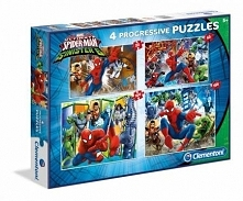 Puzzle 20+60+100+180 Ultimate Spiderman (96011)