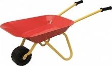 Woody Taczka Ogrodowa Dla Dzieci, Czerwona, 75X35 Cm