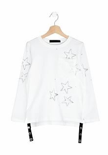 Biała Bluzka Softhearted
