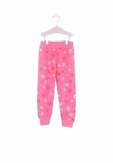 Różowe Spodnie Dresowe Cherry Lady