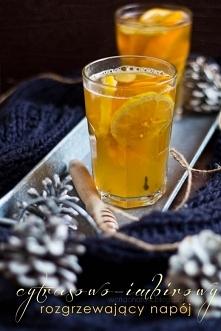 Rozgrzewający napój cytrusowo-imbirowy