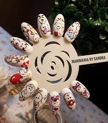 #nails #manicurehybrydowy #inspiracje